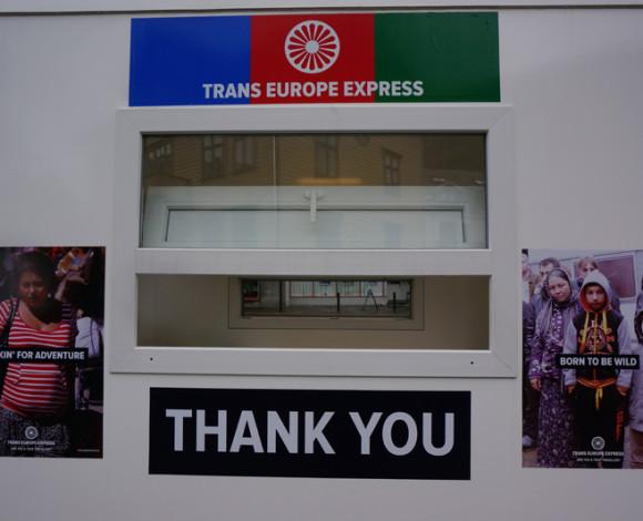 TRANS EUROPE EXPRESS, AGALAUS (FEARLESS) ART FESTIVAL