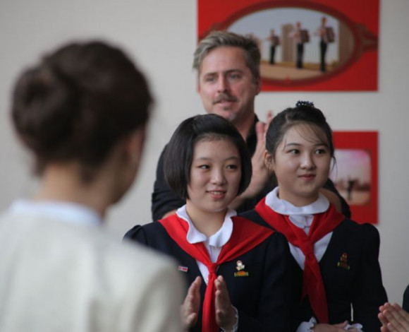 NORTH KOREAN- Norwegian joint political youth theatre